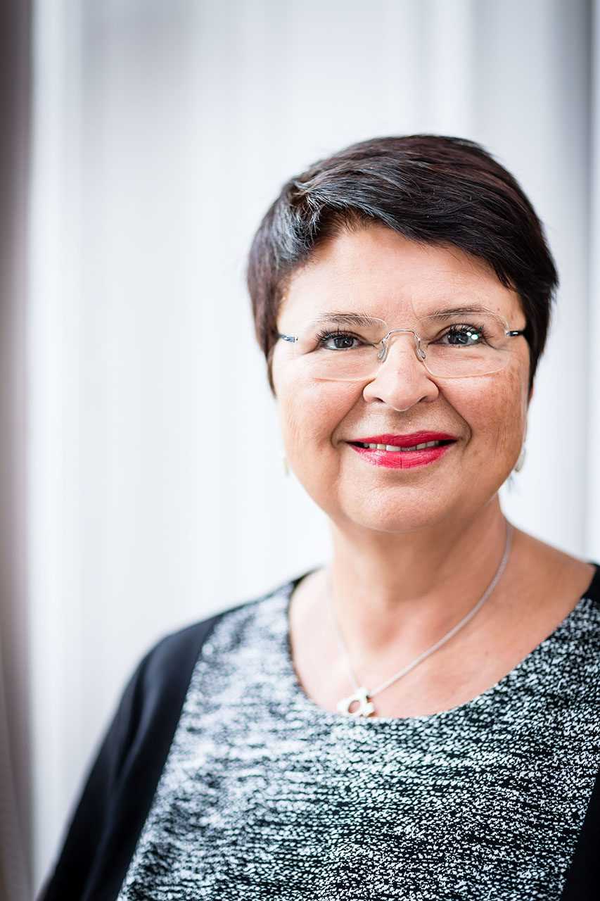 VIENNA, AUSTRIA - AUGUST 08, 2015: Exclusive Portraits Renate Brauner, Member of the Vienna city council.